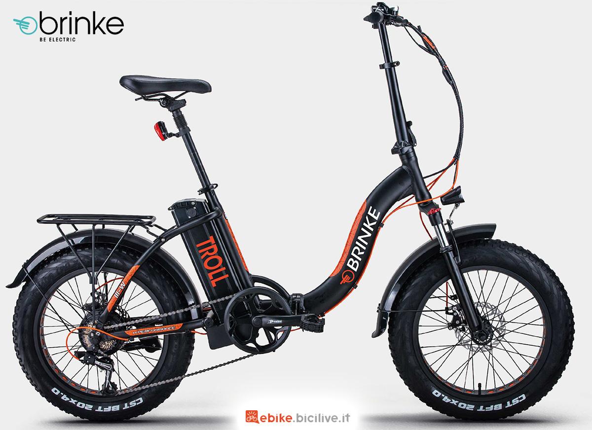 La nuova bici elettrica Brinke Troll Comfort 2021