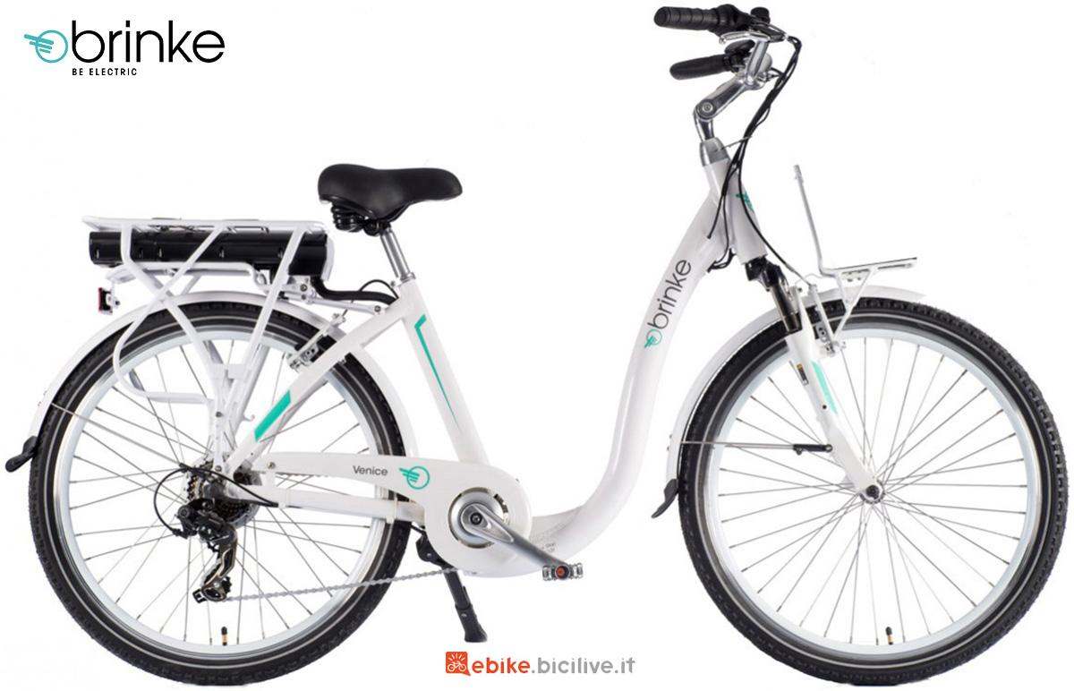 La nuova bici elettrica Brinke Venice 2021