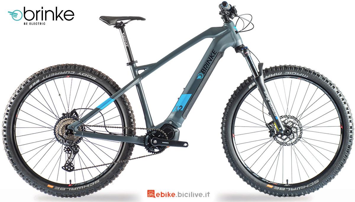 La nuova emtb front Brinke x2s 2021