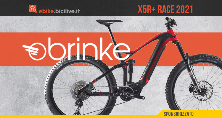La nuova emtb Brinke X5R+ 2021