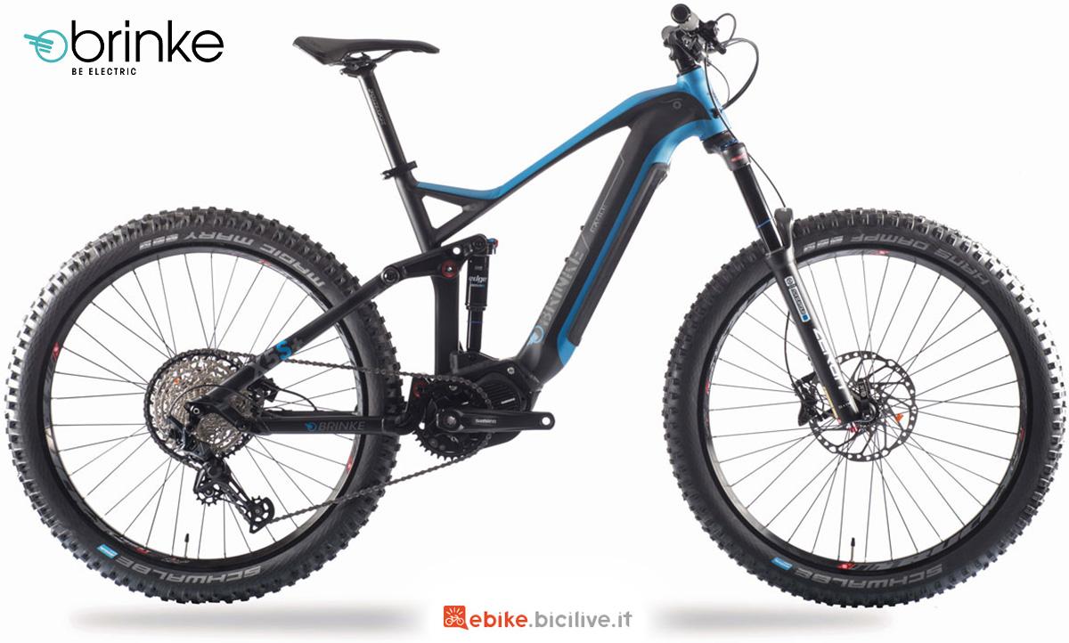 La nuova emtb Brinke X5S+ 2021