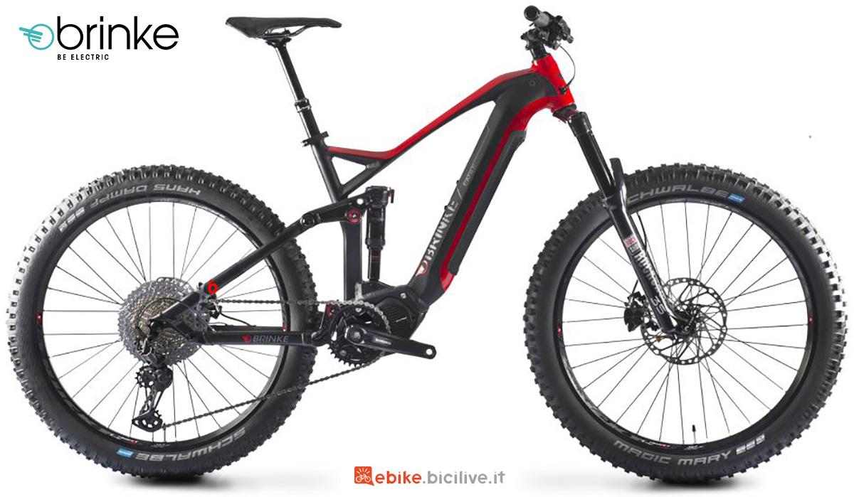 La nuova emtb Brinke X6R 2021