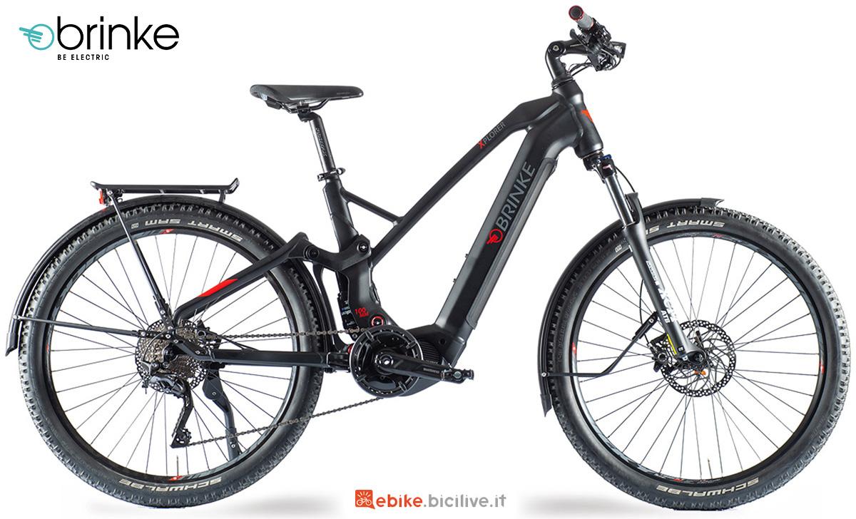 La nuova ebike da trekking Brinke Xplorer EP8 2021