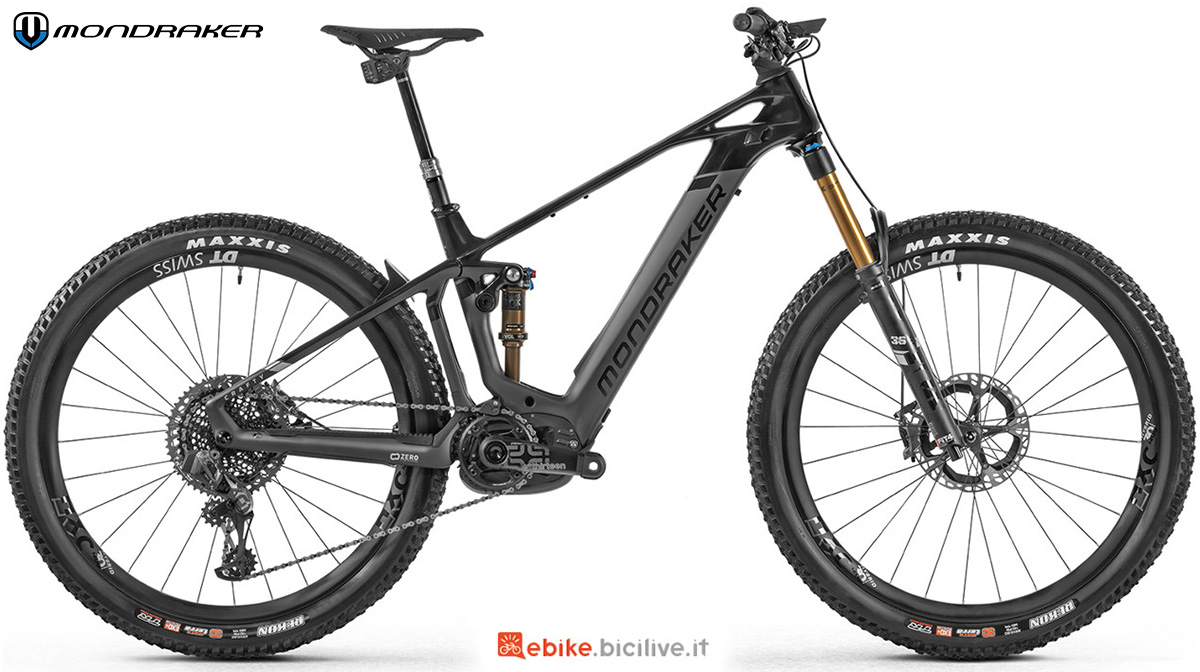 La nuova emtb full Mondraker Crafty Carbon RR SL 2021