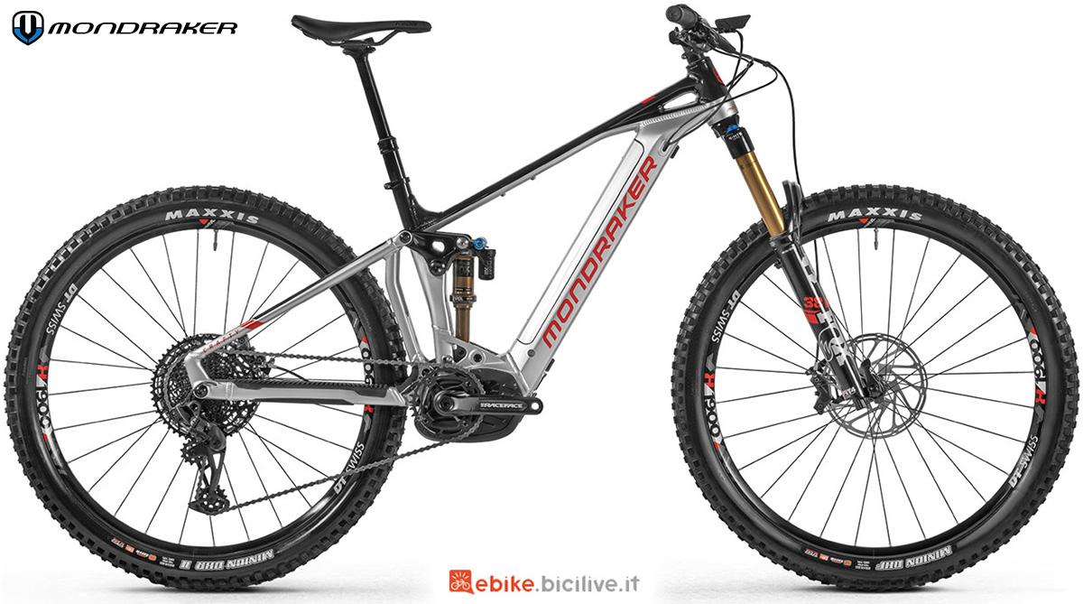 La nuova mountainbike elettrica full Mondraker Crafty RR 2021