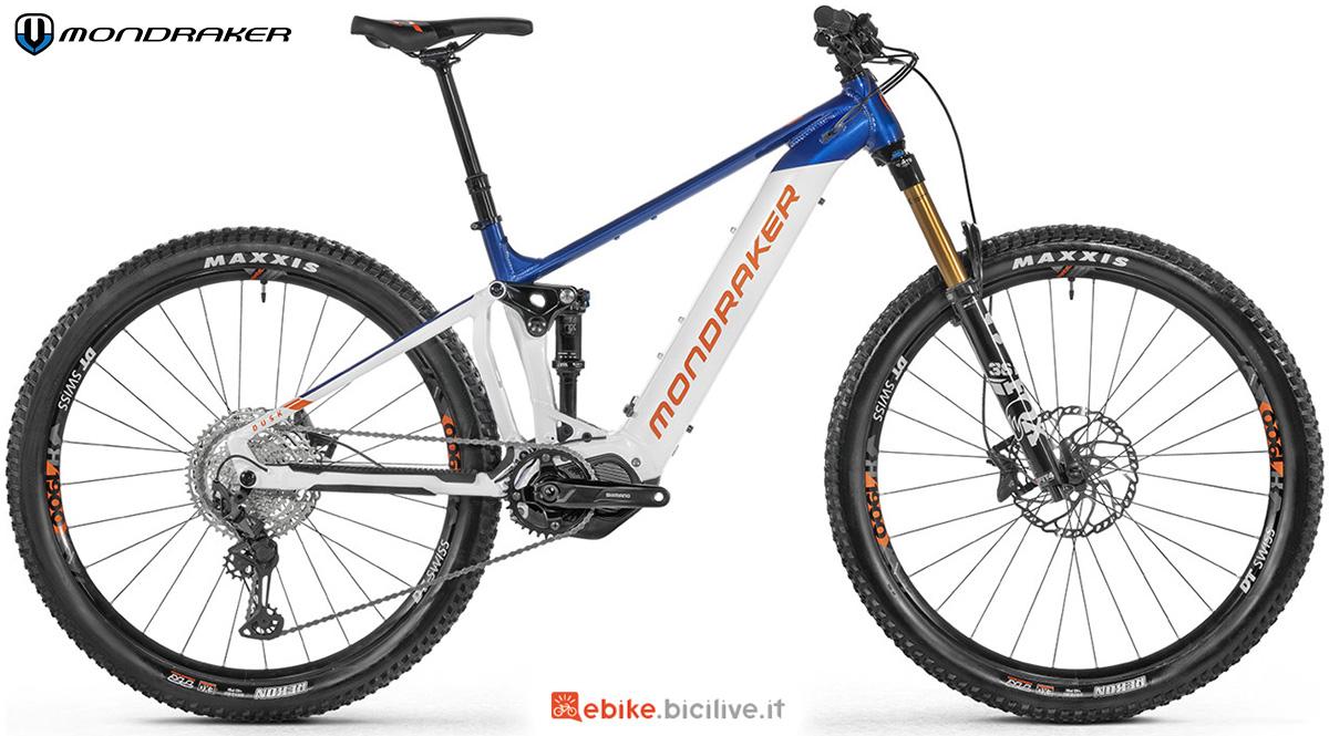 La nuova mtb a pedalata assistita Mondraker Disk RR 2021