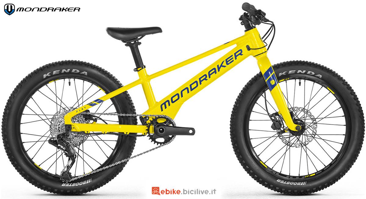 La nuova ebike per bambini Mondraker Play 20 2021