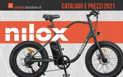 Tutte le e-bike 2021 Nilox: catalogo e listino prezzi bici elettriche