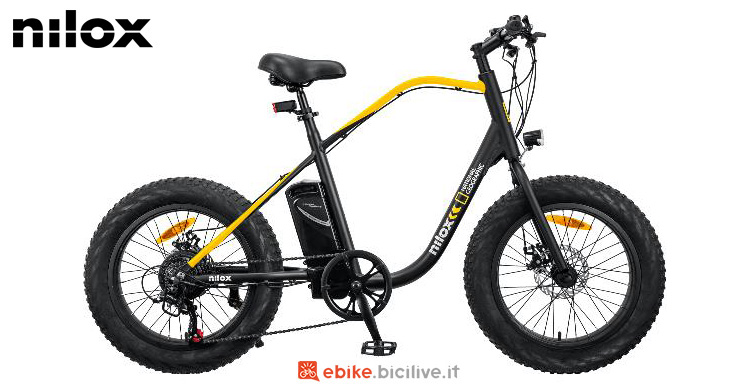 Una e-bike Nilox J3 National Geographic gamma 2021