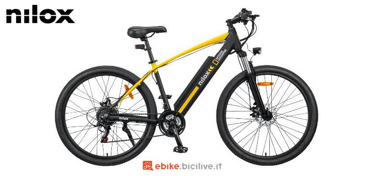 Una bicicletta Nilox X6 National Geographic gamma 2021