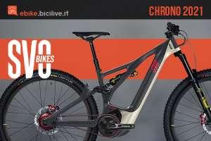 La nuova ebike SVO Bikes Chrono 2021