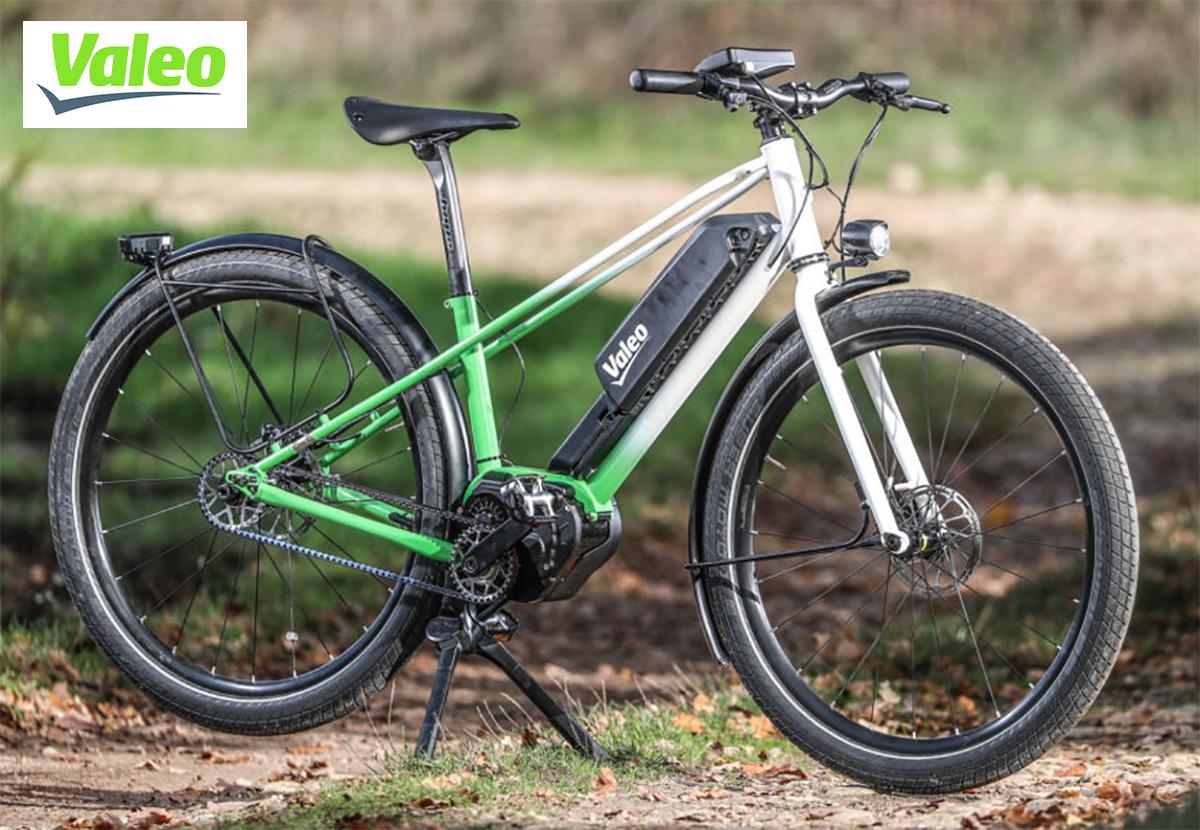 Prototipo di ebike dotata del Valeo Smart e-Bike System