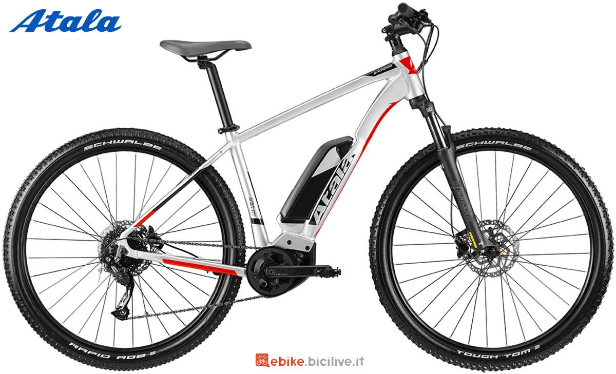 La nuova mountainbike elettrica front Atala B-Cross A6.1 2021