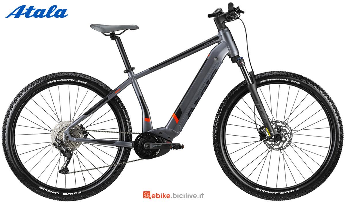 La nuova mountainbike elettrica hardtail Atala B-Cross A7.1 2021