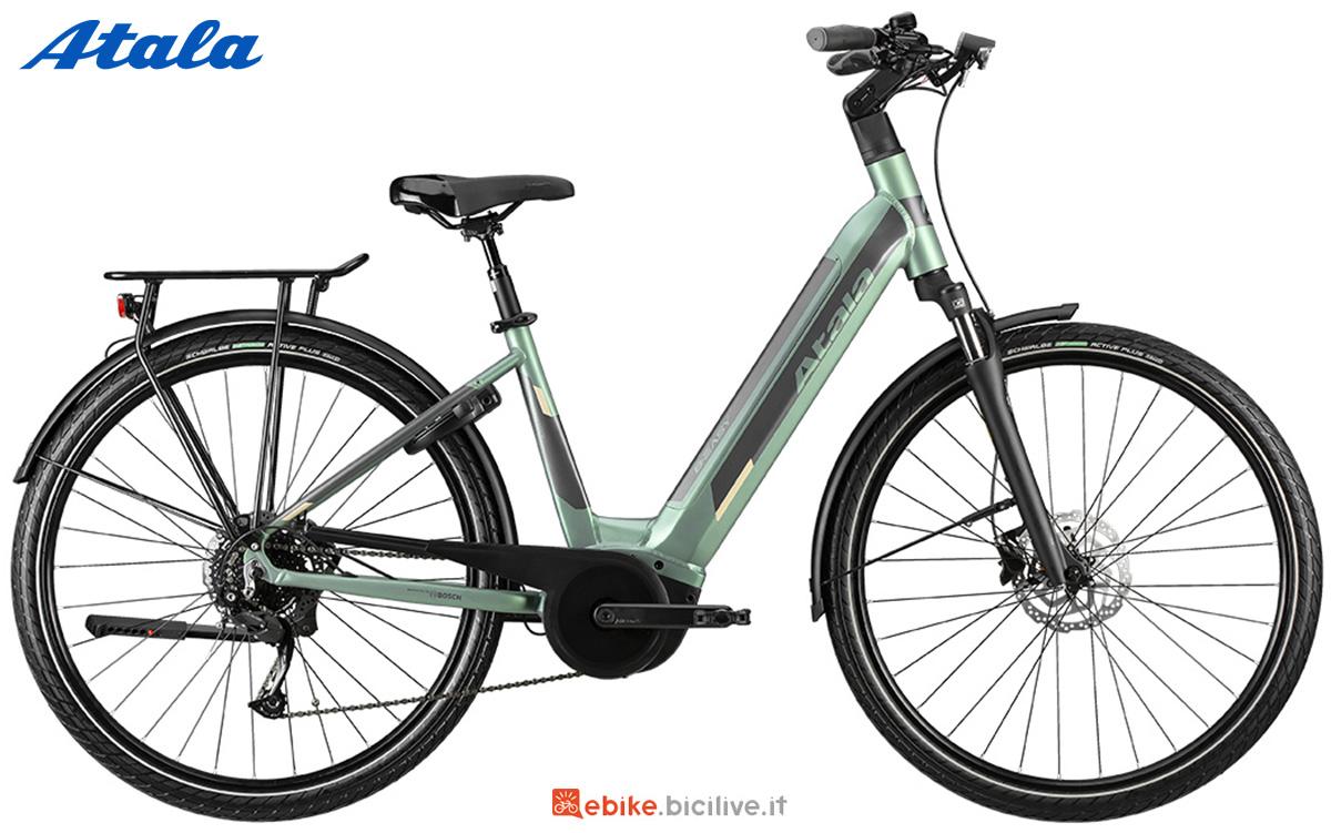 La nuova bici elettrica da trekking Atala B-Easy A8.1 2021