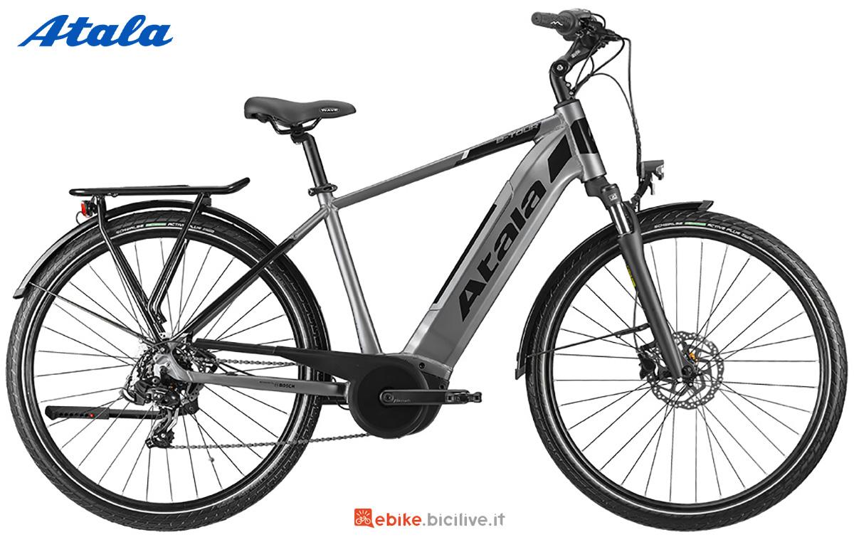 La nuova bici elettrica per il trekking Atala B-Tour A4.1 2021