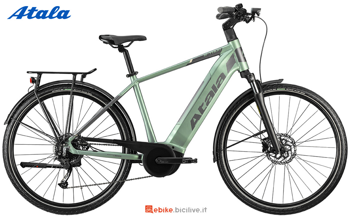 La nuova bici elettrica da trekking Atala B-Tour A5.1 2021