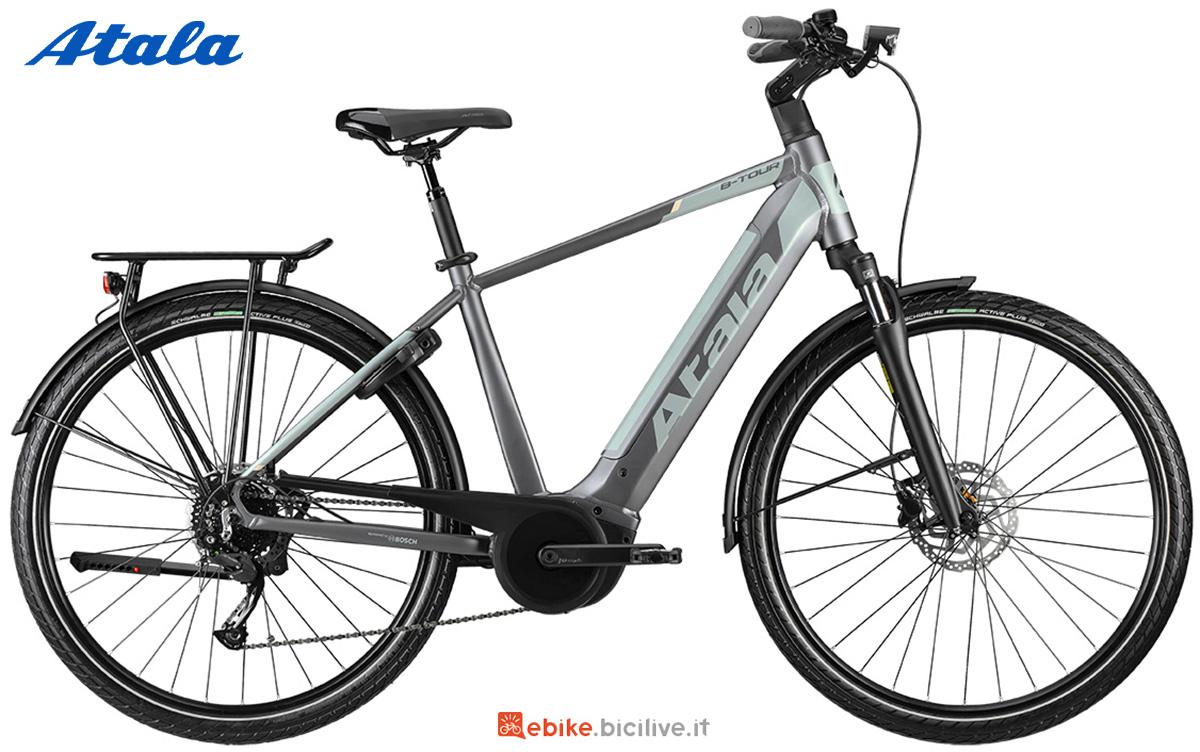 La nuova ebike da trekking Atala B-Tour A6.1 2021