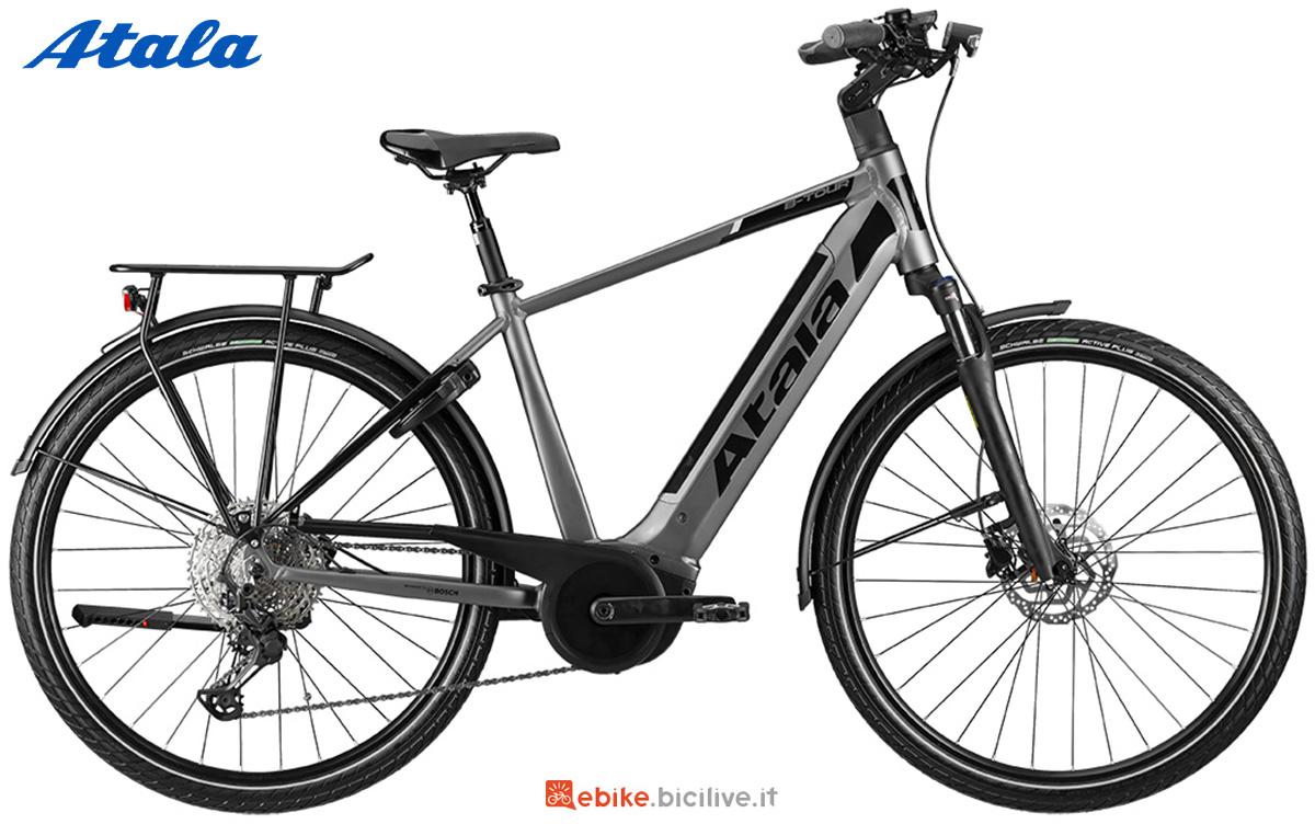 La nuova bici a pedalata assistita per il trekking Atala B-Tour A8.1 2021