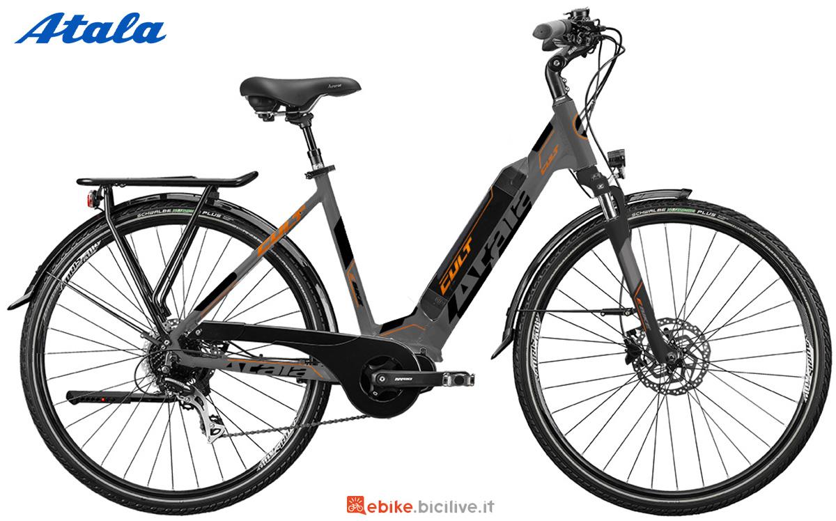 """La nuova bici elettrica per il trekking Atala Cult 8.1 28"""" 2021"""