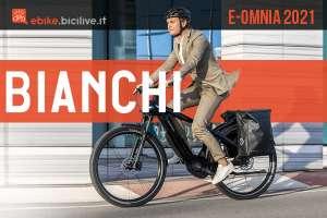 Bianchi e-Omnia 2021: una linea di ebike per tutti i ciclisti
