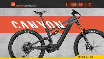 Le nuove emtb Canyon Torque:ON 2021