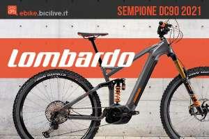 La nuova emtb Lombardo Sempione DC90 2021