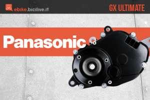 Motore centrale per bici elettriche Panasonic GX Ultimate
