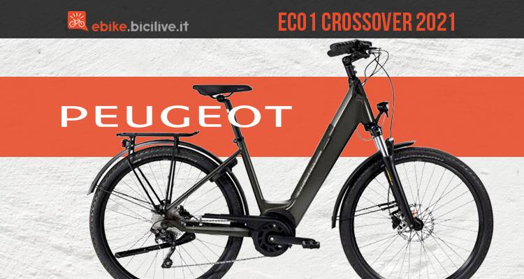 Peugeot eC01 Crossover 2021: nuova e-bike urbana