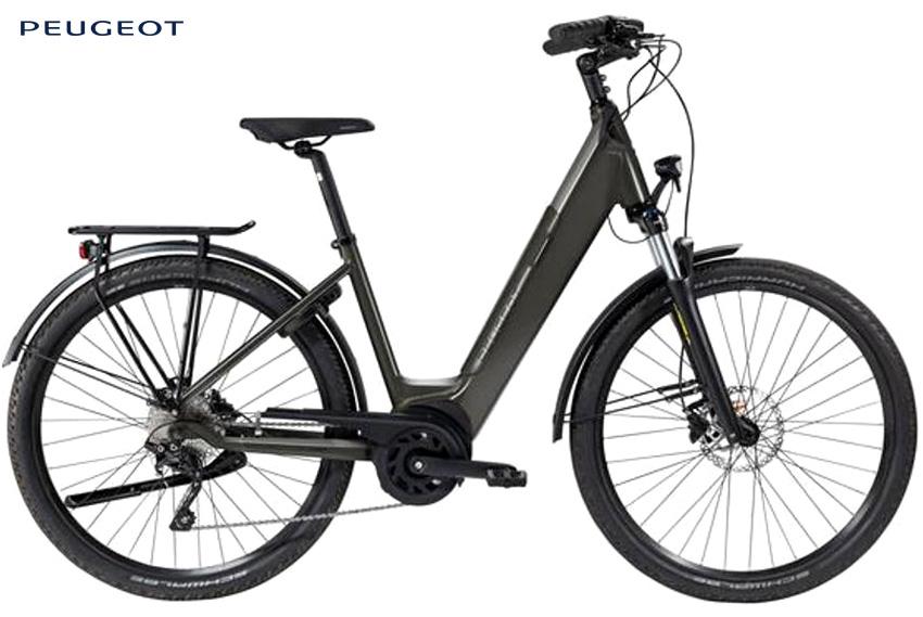 Bici elettrica da città Peugeot eC01 Crossover 2021