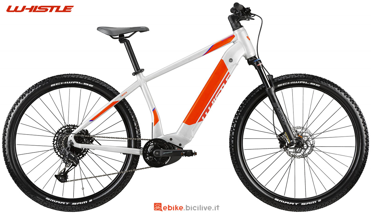 La nuova mountainbike elettrica front Whistle B-Race A8.1 2021
