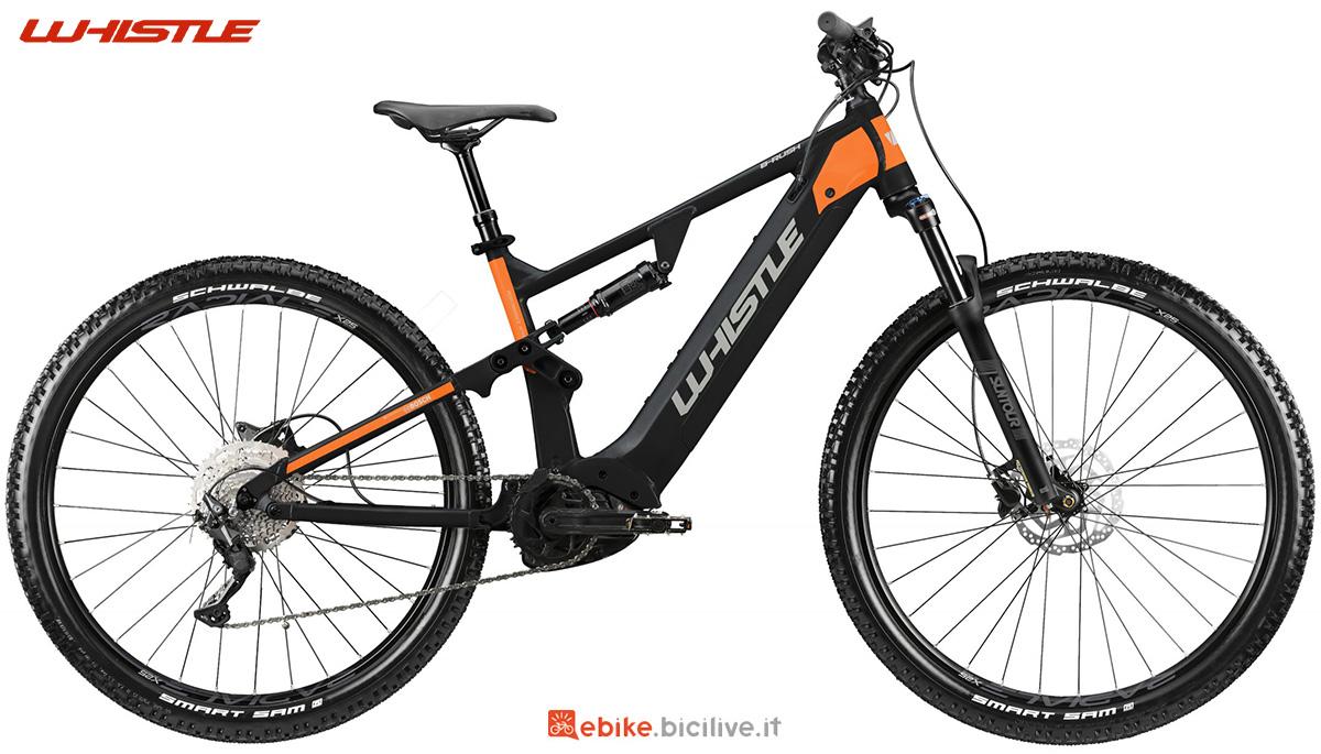 La nuova mountainbike elettrica full Whistle B-Rush A5.1 2021