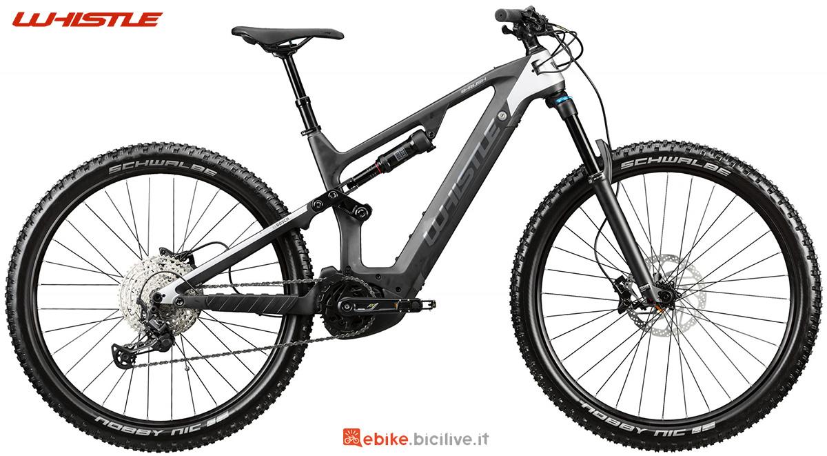 La nuova mountainbike elettrica full Whistle B-Rush C7.1 2021