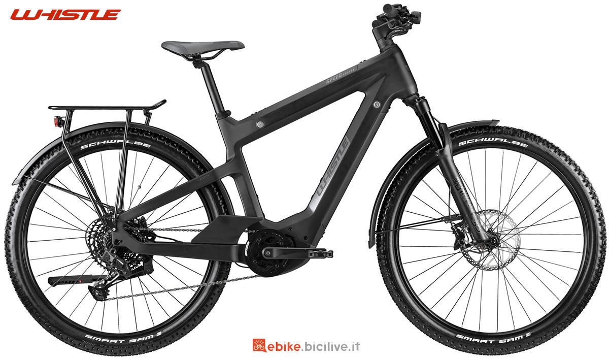 La nuova bici elettrica da trekking Whistle Speed Urban C8.1 2021