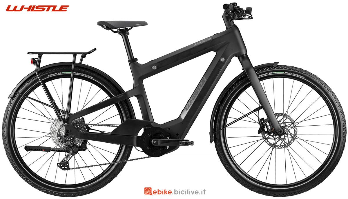 La nuova ebike da trekking Whistle Speed Urban C9.1 2021