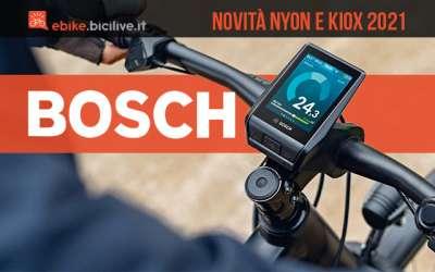 Le novità 2021 dei display Bosch Kiox e Nyon