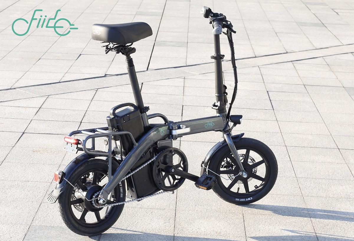 La nuova bici elettrica pieghevole Fido L3 2021