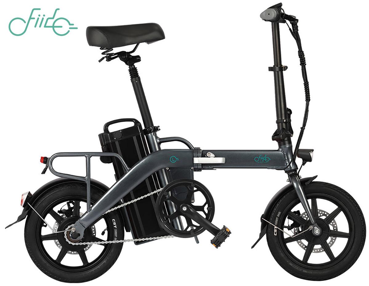 La nuova bici elettrica pieghevole Fido L3 2021 vista lateralmente