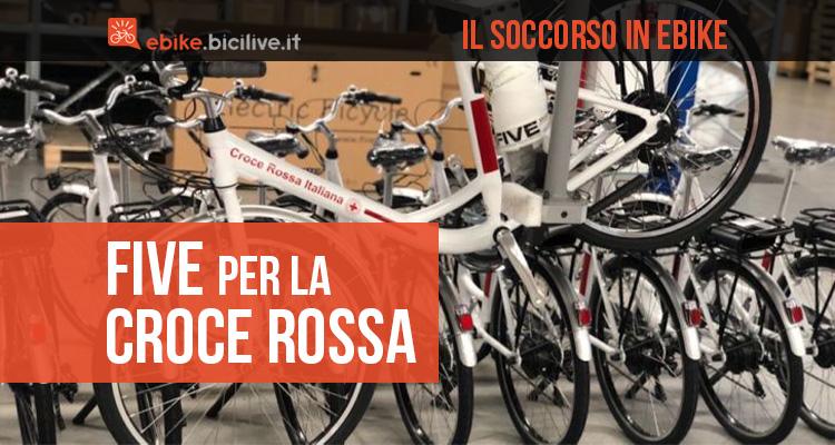 La collaborazione tra FIVE e Croce Rossa Italiana per la produzione di bici elettriche