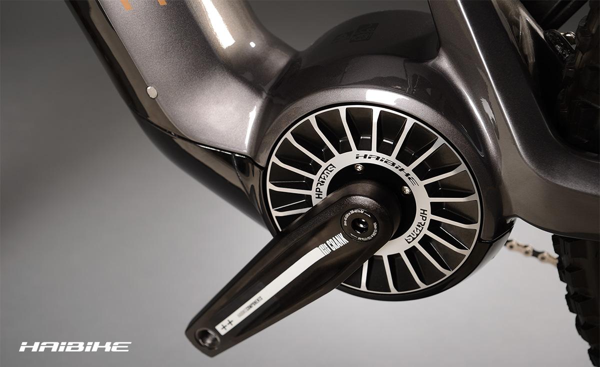 Il motore Flyon montato su alcuni modelli emtb della nuova linea 2021 Haibike