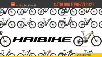 Il catalogo e il listino prezzi delle nuove ebike Haibike 2021