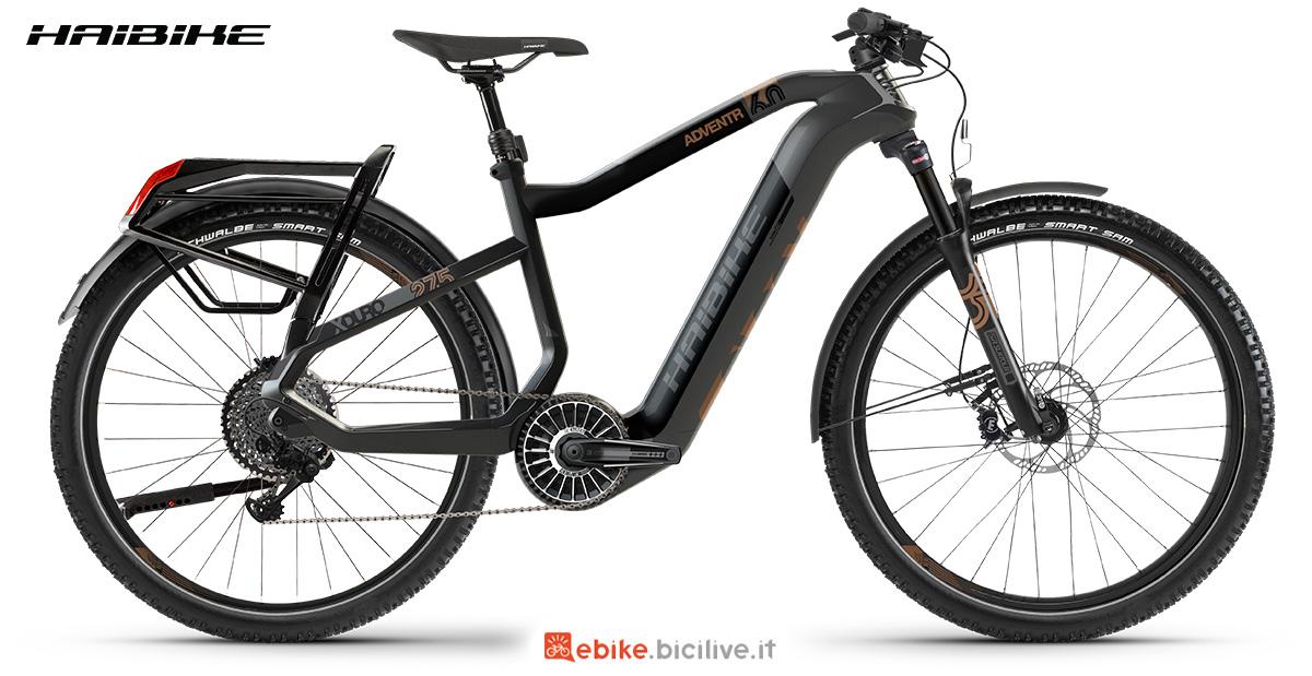La nuova bici a pedalata assistita per il trekking Haibike Xduro Adventr 6 2021
