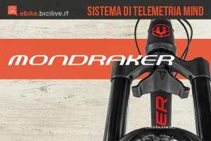 Il nuovo sistema di telemetria Mind per ebike Mondraker 2021