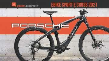 Le nuove ebike marchiate Porsche ebike Sport ed ebike Cross 2021