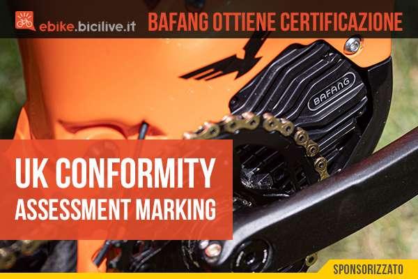 Bafang ottiene la certificazione UK Conformity Assesment Marking 2021