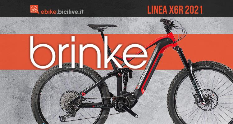 La nuova emtb Brinke X6R e X6R Race 2021