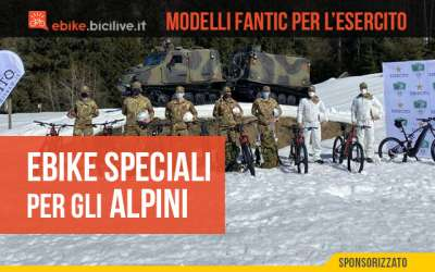 Fantic dona al gruppo degli alpini 9 ebike