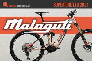 La nuova mtb elettrica full Malaguti Superiore LTD 2021