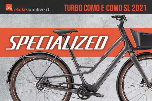 Le nuove bici elettriche da città Specialized Turbo Como e Como SL 2021