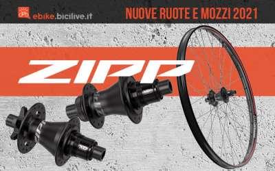 Le nuove ruote e mozzi per ebike Zipp 2021